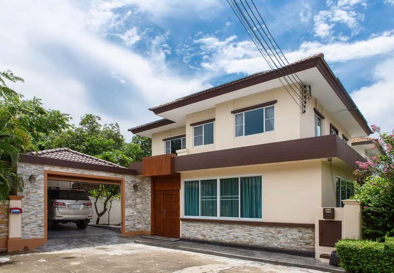(บ้านเช่าไปแล้ว)บ้านเช่าวิภาวดี60 / ให้เช่าบ้านเดี่ยวสวยที่สุด เฟอร์ครบ หมู่บ้านภัสสร ใกล้ Central