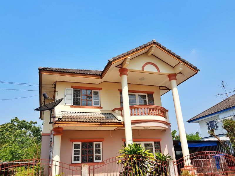 (บ้านเช่าไปแล้ว)บ้านเช่าพระราม2/บ้านเดี่ยวให้เช่าถูก บางบอน5-พระราม2  100 ตรว.หลังมุม ทำธุรกิจได้ 1