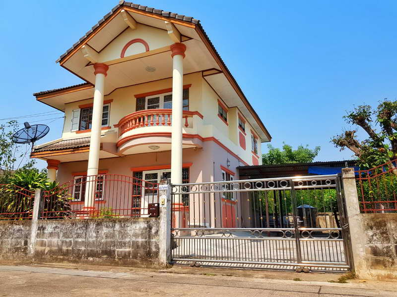 (บ้านเช่าไปแล้ว)บ้านเช่าพระราม2/บ้านเดี่ยวให้เช่าถูก บางบอน5-พระราม2  100 ตรว.หลังมุม ทำธุรกิจได้