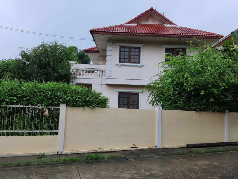 (บ้านเช่าไปแล้ว)บ้านเช่านนทบุรี/ บ้านเช่าราคาถูก นนทบุรี ม.มณียาท่าอิฐ-รัตนาธิเบศร์ ใกล้BTSสายสีม่วง