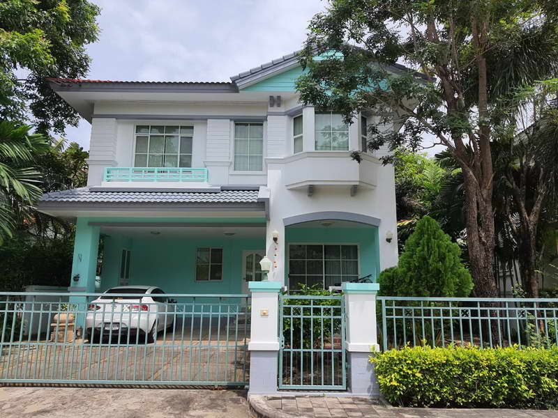 บ้านเช่าอ่อนนุช/บ้านสวยให้เช่าไม่แพง หมู่บ้านมัณฑนา อ่อนนุช-วงแหวน ปรับปรุงใหม่เฟอร์ครบ พร้อมอยู่ 3