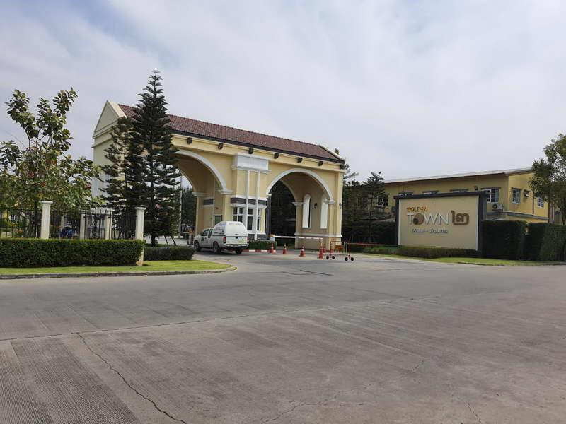 (บ้านเช่าไปแล้ว)บ้านเช่าอ่อนนุช/บ้านใหม่ให้เช่าถูก อ่อนนุช65 ม.โกลเด้นทาวน์2 หลังมุม พร้อมอยู่ 4 นอน