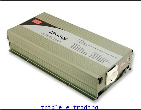 MEANWELL INVERTER True Sine Wave TS-1500