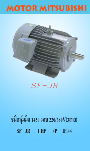 SF-JR 1 HP 4P IP.44