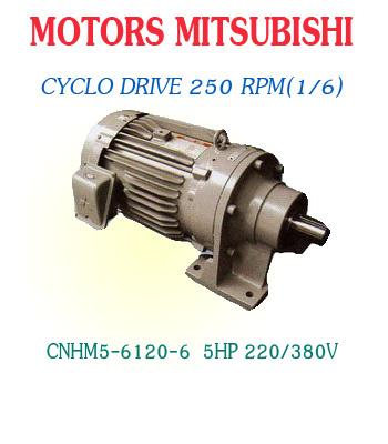 CNHM5-6120-6  5HP  220/380V