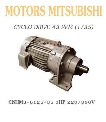 CNHM3-6125-35  3HP  220/380V
