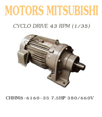 CHHM8-6160-35  7.5HP  380/660V