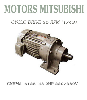 CNHM2-6125-43  2HP  220/380V