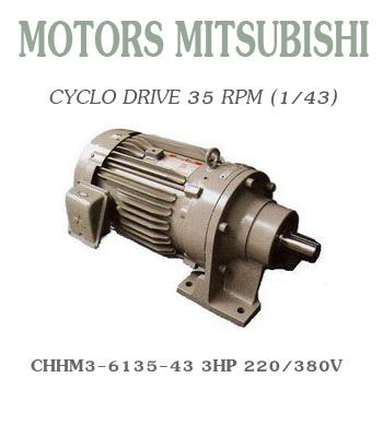 CHHM3-6135-43  3HP  220/380V