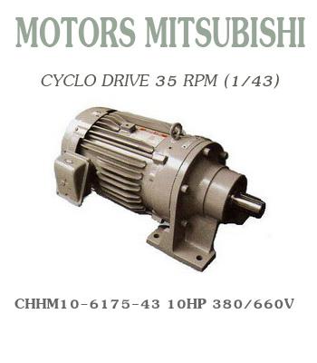 CHHM10-6175-43  10HP  380/660V