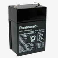 แบตเตอรี่แห้ง PANASONIC SLA BATTERY LC-R064R5NA