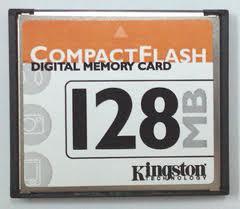 KINGSTON CF 128 MB SPEED 25X