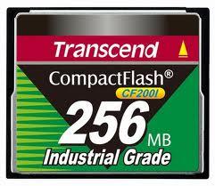 TRANSCEND CF 256MB INDUTRIAL GRADE