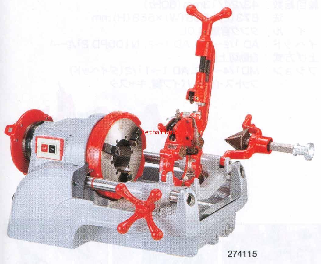 REX เครื่องต๊าปเกลียว รุ่น N80A