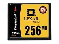 LEXAR CF 256 MB SPEED 12X