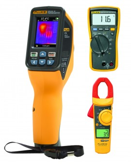 Fluke VT04-HVAC-KIT Visual IR Thermometer and HVAC Kit