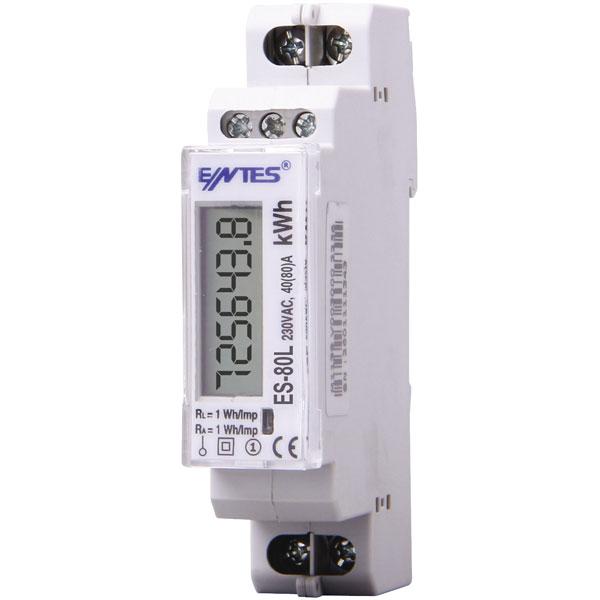 ENTES ES-80L DIN Rail Electricity Meter ราคา 2531 บาท