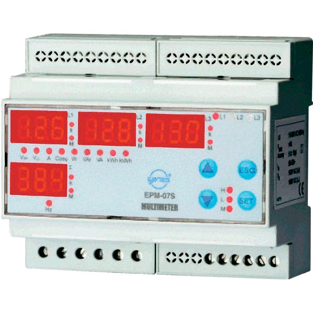 ENTES EPM-07S-DIN Mains-analysis device, Mains analyser ราคา 9350 บาท