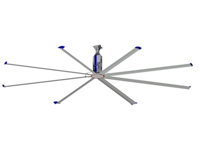 พัดลมยักษ์ใบพัดยาว7.3เมตร YSBC-7310 ราคา 173,340 บาท