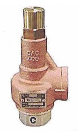 YOSHITAKE Steam/Air/water/Oil JIS Rc Screwed Trim SUS AL-160