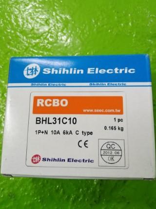 SHIHLIN RCBO BHL31C10 10A 230V ราคา850 บาท