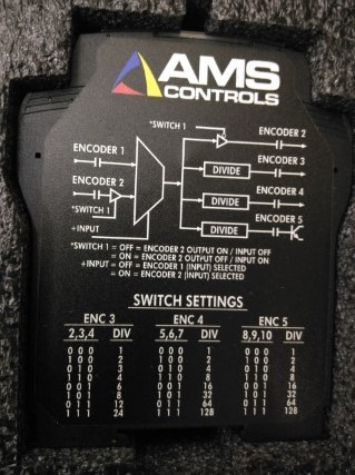AMS ENCODER SIGNAL SPLITTER SWITCH MODULE (6390) ราคา 50445 บาท