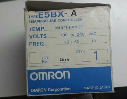 OMRON TEMPERATURE CONTROLLER MODEL E5BX-A ราคา 6237 บาท