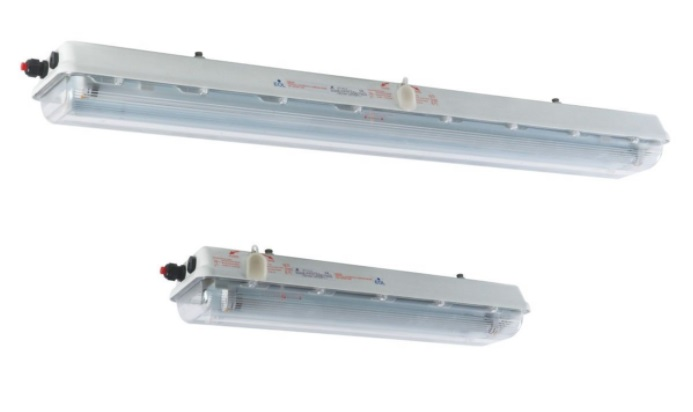 WAROM BAY51-Q Series Explosion-proof Light Fittings for Fluorescent Lamp