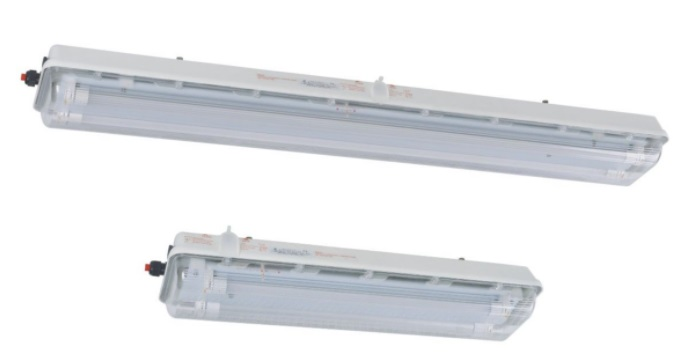 WAROM BAY51-Q LED Series Explosion-proof Light Fittings with LED tubes