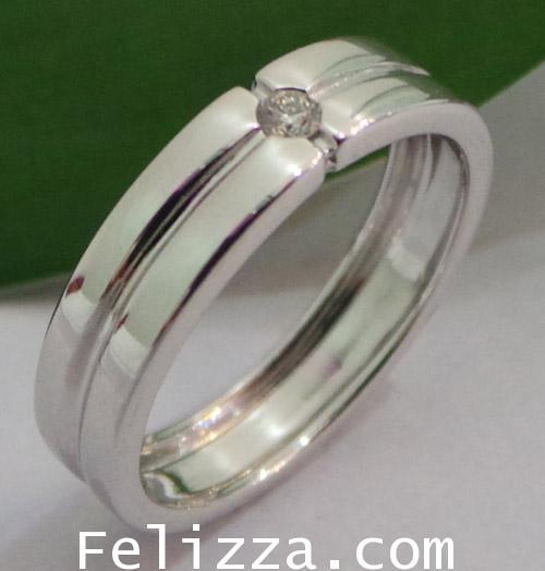 แหวนเพชรแท้เบลเยี่ยมคัท RI00424-172 (DNZO)