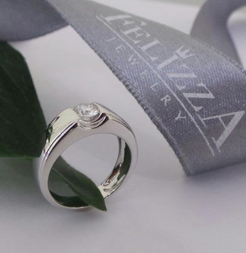 แหวนเพชรแท้เบลเยี่ยมคัท RI20567-255