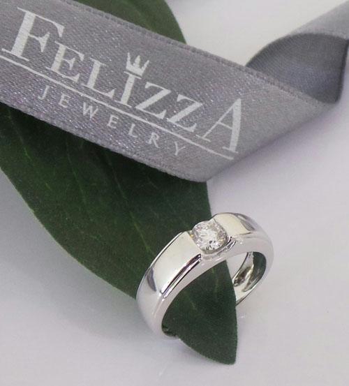 แหวนเพชรแท้เบลเยี่ยมคัท RI20572-256