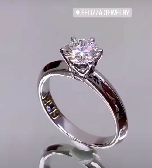 แหวนเพชรแท้เบลเยี่ยมคัท (ใบเซอร์ GIA) RI20626-295