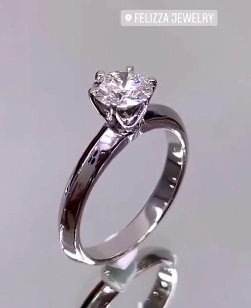 แหวนเพชรแท้เบลเยี่ยมคัท (ใบเซอร์ GIA) RI20626-295 1