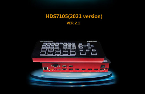 DeviceWell HDS7105 (2021 Version) 4HDMI+1DP SWITCHER