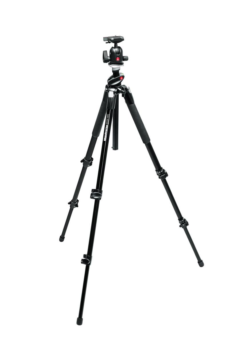 Manfrotto TR190XPROB,HD496RC2 ขาตั้งกล้องวีดีโอ (Tripod)
