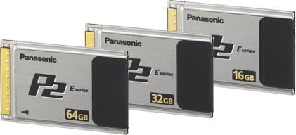 AJ-P2E032XG P2 Card 32GB