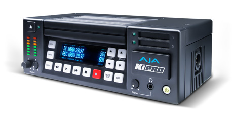 AJA Ki Pro Highly portable tape replacement with HDD 250 GB