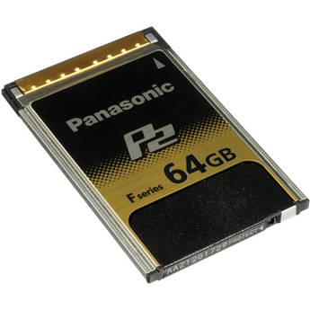 Panasonic AJ-P2E064FG P2 Card 64 GB