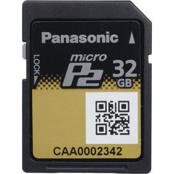 Panasonic AJ-P2M032AG Micro P2 Card 32 GB