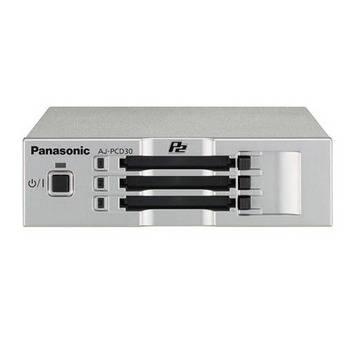 Panasonic AJ-PCD30 P2 Memory card Drive