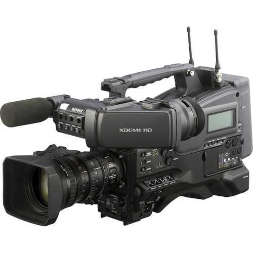 Sony PMW-400K 2/3 inch XDCAM EX HD Camcorder with Lens