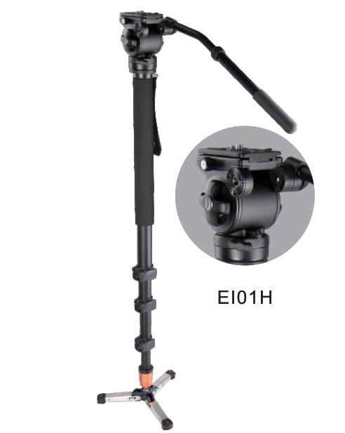 ขาตั้งกล้องวีดีโอ E-IMAGE MA-80 (MA50+EI01H) Aluminum Monopod
