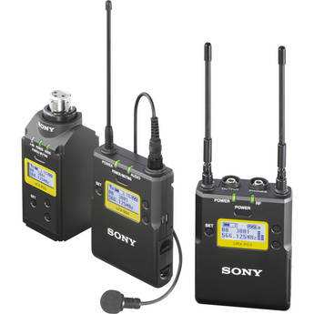 Sony UWP-D16 Integrated Digital Plug-on  Lavalier Combo Wireless Microphone System