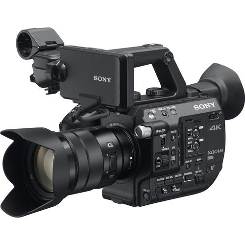 กล้องวีดีโอ SONY PXW-FS5K 4K XDCAM With Zoom Lens 18-105mm