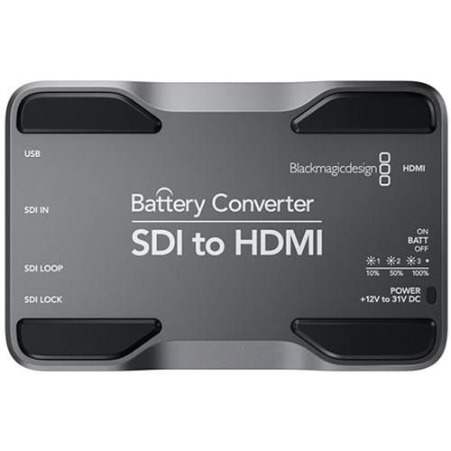 Blackmagic SDI to HDMI Battery Converter
