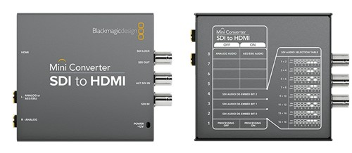 Black Magic: Mini Converter SDI to HDMI