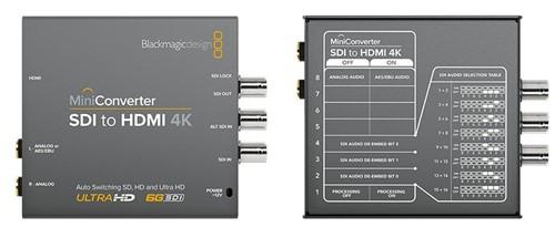 Black Magic: Mini Converter SDI to HDMI 4K
