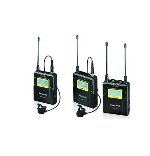 Saramonic RX9+TX9 UHF Wireless Lavalier Microphone