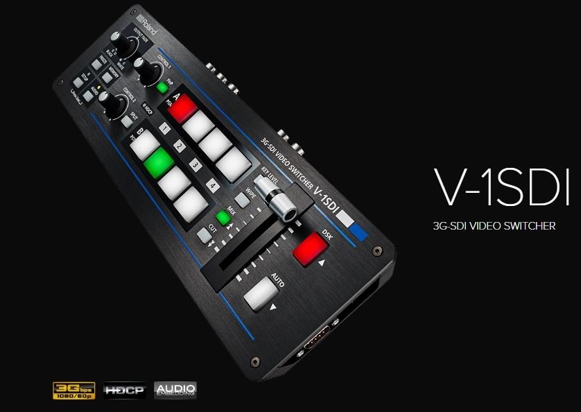 สวิตเชอร์ Roland  V-1 SDI 3G-SDI VIDEO SWITCHER
